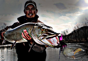 James River Musky on the Fly